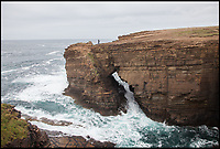 BNPS.co.uk (01202 558833)<br /> Pic: WildGuideScotland/BNPS<br /> <br /> The wild and windswept Brough of Bigging in Orkney.<br /> <br /> Scotland's stunning unspoiled scenery is being shown in a whole new light in a book that reveals the hidden gems off the beaten track north of the border.<br /> <br /> Three young photographers travelled the width and breadth of Scotland and snapped 750 picturesque places which include shimmering lochs, ancient forests, lost ruins, hidden beaches, secret islands, dramatic cliffs, tiny glens and mysterious grottoes. <br /> <br /> Friends Kimberley Grant, David Cooper and Richard Gaston, all in their late 20s, have spent the past two years exploring lesser known idyllic spots which they are keen to bring to a wider audience.