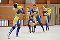 "Japan National Team, MARCH 23, 2012 - Rhythmic Gymnastics : Japanese Rhythmic Gymnastics Team ""FAIRY JAPAN POLA"" open the practice for press at Japan Sports Institute of Science in Itabashi, Japan. (Photo by Atsushi Tomura /AFLO SPORT) [1035]"