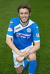 St Johnstone FC photocall Season 2016-17<br />Murray Davidson<br />Picture by Graeme Hart.<br />Copyright Perthshire Picture Agency<br />Tel: 01738 623350  Mobile: 07990 594431