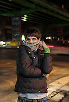 "Erwin, 21, is a male prostitute, pictured waiting for clients in Revolution Street in the centre of Tehran. He was asked what his dreams are: ""My wish is to find a husband, marry him, and be able to live free from menace."" Homosexuality is a crime punishable by death in Iran."