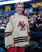 Paula Venti - The Boston College Eagles defeated the Ferris State University Bulldogs 4-1 (EN) in the 2012 Frozen Four final to win the national championship on Saturday, April 7, 2012, at the Tampa Bay Times Forum in Tampa, Florida.