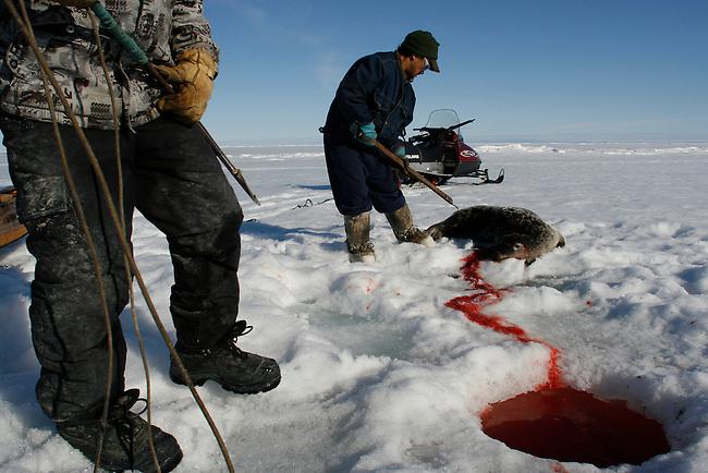Inuit people make ...