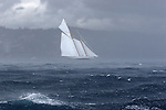 REGATES ROYALES 2007- PANERAI CLASSIC YACHT CHALLENGE- ONBOARD ALTAIR-TEMPEST STRIKES THE CLASSIC BOATS FLEET-SEPTEMBER 27-COPYRIGHT : THIERRYSERAY.COM. .SUNSHINE.Nota Bene : I took all these pictures the same day. MG 3885 at 11h24 AM, 3986 at 12h24 PM and 4094 at 13h08 PM