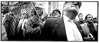 New York, NY -- Constructions rally, Columbus circle.©Stacy Walsh Rosenstock