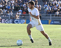 Chris Korb #16 of the University of Akron during the 2010 College Cup final against the University of Louisville at Harder Stadium, on December 12 2010, in Santa Barbara, California.Akron champions, 1-0.