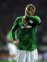 FUSSBALL   1. BUNDESLIGA    SAISON 2012/2013    14. Spieltag   SV Werder Bremen - Bayer 04 Leverkusen                28.11.2012 Aaron Hunt (SV Werder Bremen)