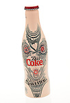Bottle of Diet Coke designed by Jean Paul Gaultier - Jan 2013.