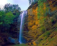 Toccoa Falls, Toccoa Falls Preserve, Southern Appalachians, Georgia