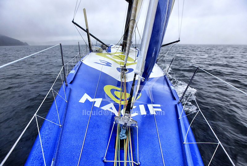 onboard the imoca open 60 macif crewed by francois gabart