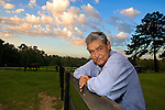 Thom Rumberger and Debbie Harrison at Rumberger's farm in Lloyd, Florida September 9, 2008  .