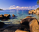 Lake Tahoe Scenic Clear Water Shoreline