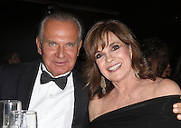 Hollywood, CA - February 19: Andrew Ordon, Linda Gray, At 3rd Annual Hollywood Beauty Awards_Inside, At Avalon Hollywood In California on February 19, 2017. Credit: Faye Sadou/MediaPunch
