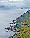 View of the east coast of the Isle of Skye, Scotland