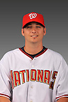 14 March 2008: ..Portrait of Clinton Everts, Washington Nationals Minor League player at Spring Training Camp 2008..Mandatory Photo Credit: Ed Wolfstein Photo