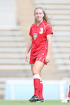 01 September 2013: New Mexico's Dylann O'Connor. The Duke University Blue Devils played the University of New Mexico Lobos at Fetzer Field in Chapel Hill, NC in a 2013 NCAA Division I Women's Soccer match. Duke won the game 1-0.