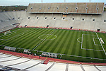 29 March 2005: Legion Field. The United States Men's National Team practiced at Legion Field in Birmingham, AL the day before playing Guatemala in a CONCACAF final round World Cup Qualifying game.