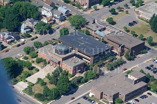 Marquette County Court House, Marquette, Upper Peninsula of Michigan.