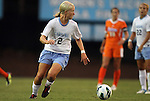 24 August 2012: UNC's Caitlin Ball. The University of North Carolina Tar Heels played the University of Florida Gators to a 0-0 overtime tie at Fetzer Field in Chapel Hill, North Carolina in a 2012 NCAA Division I Women's Soccer game.