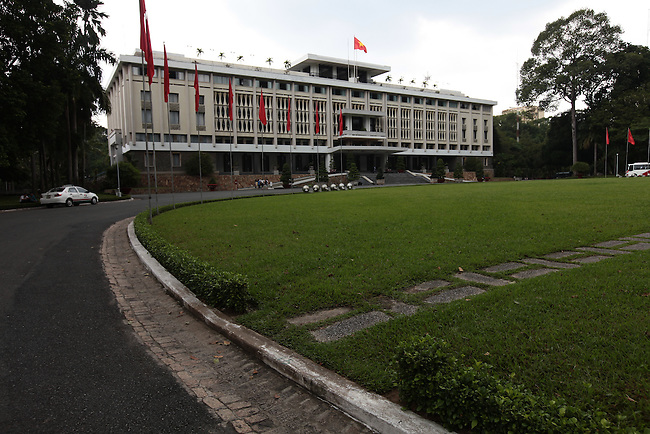 The former presidential palace for the U.S.-backed South Vietnamese government has been preserved much as it was on April 30, 1975 when North Vietnamese tanks smashed through its gates and brought 30 years of war to an end. The new authorities promptly renamed it the Reunification Palace, and Saigon was renamed Ho Chi Minh City, but many residents still refer to the latter by its old name. Ho Chi Minh City, Vietnam. June 30, 2011.