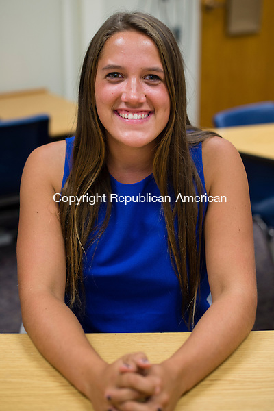 WASHINGTON, CT- 28 October 2015-102815EC07-  Haley Pesci, 17, is a senior at Shepaug Valley High School in Washington. Erin Covey Republican-American