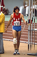 "July 30, 1976 - Montreal, Quebec, Canada: Bruce Jenner during the pole vault competition. At the 1976 Montreal Olympic games, US athlete Bruce Jenner won the gold medal in the decathlon, scoring 8,616 points, thereby beating his own world record set at the Olympic Trials. Jenner hit a ""home run"" by achieving personal bests on the first day, turning a notorious second day into a gold medal coronation. In an April 2015 interview, Jenner came out as a trans woman saying he / she had dealt with gender dysphoria since his / her youth, and that, for all intents and purposes, ""I?m a woman."""