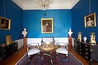 Interior of Festetics Baroque Palace (1745-1887) - Keszthely, Lake Balaton, Hungary