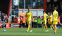 A dejected Burnley's Jeff Hendrick after Bournemouth score there first goal <br /> <br /> Photographer Ian Cook/CameraSport<br /> <br /> The Premier League - Bournemouth v Burnley - Saturday 13th May 2017 - Vitality Stadium - Bournemouth<br /> <br /> World Copyright &copy; 2017 CameraSport. All rights reserved. 43 Linden Ave. Countesthorpe. Leicester. England. LE8 5PG - Tel: +44 (0) 116 277 4147 - admin@camerasport.com - www.camerasport.com