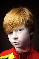 Stewart Black, 9, Glasgow<br /> I was born in Glasgow, both side of the family have red hair. Mum says its red not ginger because ginger is a spice<br /> <br /> I have more confidence, maybe getting teased made me stronger. people touch my head and say &ldquo;oh it burns!&rdquo; and call me volcano head but most of my friends support Celtic so thats ok.  I got teased at school but then I reminded them Neil Lennon (Celtic FC manager) is red and they stopped it. Others ask '&quot;Why is your hair that colour?  Do you drink a lot of Irn-Bru?&quot;.<br /> <br /> Mum says its very helpful to find me in a crowd. No-one in my year with red hair which we get trouble, I am easy to spot.<br /> <br /> I think it makes me faster at running than my friends and better at stuff than others.  it gives me strength!<br /> <br /> In India people took pictures of me, they said Mohammed had red hair.