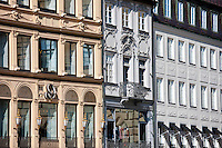 Maximillianstrasse in Central Munich by Residence Palace, Bavaria, Germany