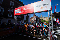 Picture by Alex Whitehead/SWpix.com - 14/05/2017 - Cycling - 2017 HSBC UK | National Women's Road Series - Lincoln Grand Prix - start