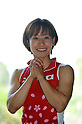 Kaori Fujio (JPN),.JUNE 14, 2012 - Hockey : Japan National Team during the Press Conference about the entering representative of London Oiympic Games at Kishi Memorial Gymnasium, Tokyo, Japan. (Photo by Jun Tsukida/AFLO SPORT) [0003].