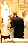 Wedding Ceremony<br /> Mass at St. Ignacious Church<br /> Park Avenue, Manhattan