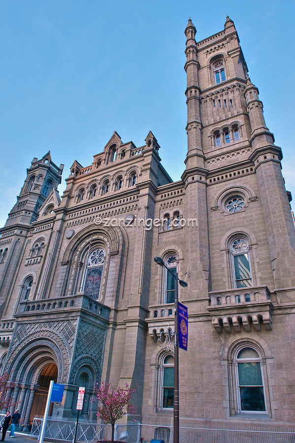 The Grand Lodge of Free and Accepted Masons of Pennsylvania, Building, Downtown, Phila. PA, Philadelphia,