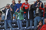 Fans attend the Ole Miss vs. Houston at Oxford-University Stadium in Oxford, Miss. on Sunday, March 11, 2012. Ole Miss won 11-3 to sweep the three-game series.