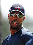 13 March 2010: Atlanta Braves' outfielder Jason Heyward awaits his turn in the batting cage prior to a Spring Training game against the Toronto Blue Jays at Champion Stadium in the ESPN Wide World of Sports Complex in Orlando, Florida. The Blue Jays shut out the Braves 3-0 in Grapefruit League action. Mandatory Credit: Ed Wolfstein Photo