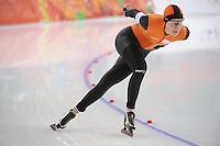 OLYMPICS: SOCHI: Adler Arena, 19-02-2014, Ladies' 5000m, Yvonne Nauta (NED), ©photo Martin de Jong