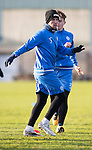St Johnstone Training&hellip;.27.12.16<br />Chris Millar pictured in training this morning at McDiarmid Park ahead of tomorrow&rsquo;s game against Rangers<br />Picture by Graeme Hart.<br />Copyright Perthshire Picture Agency<br />Tel: 01738 623350  Mobile: 07990 594431