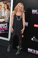 Actress Nicole Sullivan arrives at the premiere of 'What To Expect When You're Expecting' held at Grauman's Chinese Theatre in Hollywood.