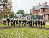 20141004 Alumni House Groundbreaking Event