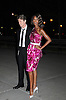 David Bowie and wife Iman in Carolyne Roehm vintage dress arriving at The Vanity Fair Party  to open The 2008 Tribeca Film Festival on April 22, 2008 at The State Supreme Court House in New York City. ....Robin Platzer, Twin Images