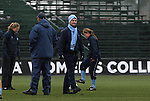 06 December 2009: UNC head coach Anson Dorrance. The University of North Carolina Tar Heels defeated the Stanford University Cardinal 1-0 at Aggie Soccer Stadium in College Station, Texas in the NCAA Division I Women's College Cup Championship game.