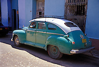 Classic American 50's Car Havana Cuba, Republic of Cuba,