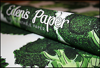 BNPS.co.uk (01202) 558833<br /> Picture: Eden'sPaper/BNPS<br /> <br /> ****Please use full byline****<br /> <br /> Broccoli paper.<br /> <br /> Green-fingered British boffins have launched an ingenious Christmas wrapping paper laced with vegetable seeds that can be planted after use rather than thrown away and only costs &pound;5.<br /> <br /> They have packed each sheet of Eden's Paper full of onion, broccoli, chilli, tomato and carrot seeds in a bid to reduce the amount of wrapping paper thrown away.<br /> <br /> Once eager recipients have torn open their presents they can then plant the discarded wrapping paper in the ground where it decomposes and releases the seeds.<br /> <br /> With a little bit of care and attention the seeds then grow into vegetable plants.