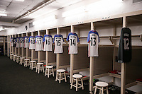 San Diego, CA - Sunday January 29, 2017: USA locker room prior to an international friendly between the men's national teams of the United States (USA) and Serbia (SRB) at Qualcomm Stadium.