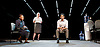 hang<br /> by debbie tucker green<br /> at the  Jerwood Theatre Downstairs, Royal Court Theatre, London, Great Britain <br /> <br /> press photocall <br /> 12th June 2015 <br /> <br /> Marianne Jean-Baptiste<br /> <br /> Claire Rushbrook <br /> <br /> Shane Zaza<br /> <br /> <br /> Photograph by Elliott Franks <br /> <br /> Image licensed to Elliott Franks Photography Services