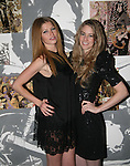Heide Lindgren and Amy attend MARC BOUWER's EXCLUSIVE SCREENING of the FW2010 film starring CANDICE SWANEPOEL at the Leo Kesting Gallery, New York-  -February 18, 2010