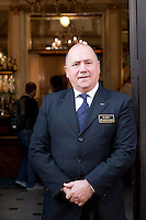 Gennaro Ponziani, manager at Caffe Gambrinus, Naples, Italy