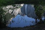 Reflection of Upper Yosemite Falls