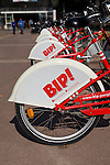 BIP: Bicyclette Perpignan - public bicycle rental scheme in Perpignan, a city in the south of france.