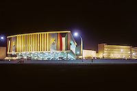 Kuwait December 1966.  University of Kuwait the Night before its Official Opening.